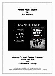 friday night lights book summary sparknotes friday night lights essay questions essay service fkassignmentyfcn