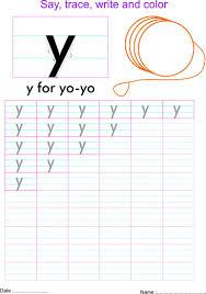 english small letter u0027y u0027 worksheet