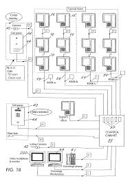 patent us7123142 integrated intercom and security system