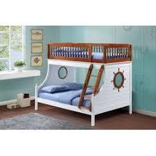 Infini Furnishings Captain Twin Over Full Bunk Bed  Reviews Wayfair - Full bunk bed