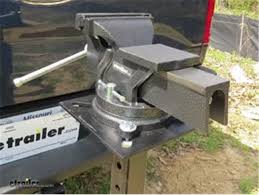 6 Inch Bench Vise Performance Tool Bench Vise Review Video Etrailer Com