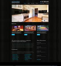 Web Design From Home New Home Extensions Website Design Melbourne