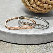 customized baby bracelets personalised baby id keepsake bangle bracelets