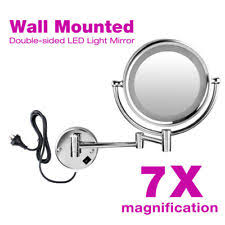 conair two sided makeup mirror with 4 light settings conair two sided lighted makeup mirror with 4 light settings 1x 5x