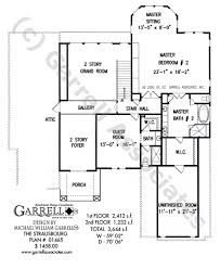 Traditional Floor Plan Strasbourg House Plan House Plans By Garrell Associates Inc