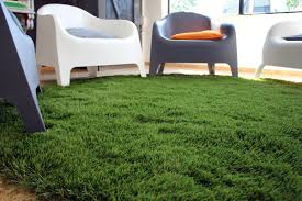 Green Turf Rug Artificial Grass For Decorative Use Artificial Turf Indoor