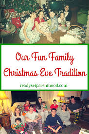 our family tradition ready set parenthood