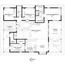 Large Single Story House Plans by Download Large Tiny House Plans Zijiapin