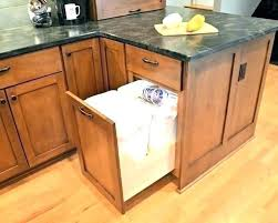 trash cans for kitchen cabinets kitchen cabinet trash bins cabinet door trash can trash can kitchen