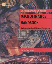 microfinance handbook an institutional and financial perspective