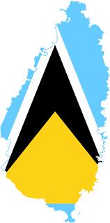 Saint Lucia Map File Flag Map Of Saint Lucia Svg Wikimedia Commons