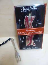 bacon ornament ebay
