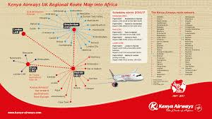 Kenya Africa Map by Kenya Airways Doing Business In Kenya