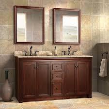 legion 60 inch double sink rustic bathroom vanity black marble top
