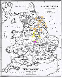 Map Of England And Scotland by Quakers In Great Britain