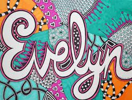 pattern art name mrslangesartcart grade 6 name design art stations