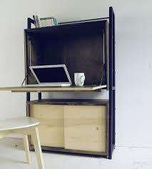 reclaimed wood secretary desk home furniture modern arks