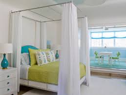 Poster Bed Canopy Ceiling Mount Bed Canopy Contemporary Bedroom Atlanta Homes