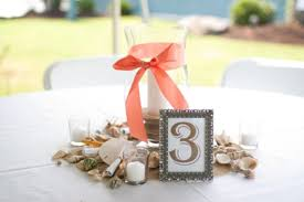 Beach Centerpieces Picture Of Amazing Beach Wedding Centerpieces