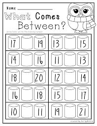 no prep winter math and literacy kindergarten literacy