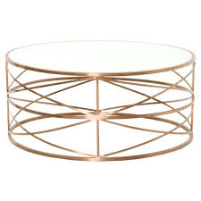 gold metal side table the best gold round coffee table