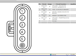 2008 ford f550 wire diagram for the fan clutch 6 4l which one goes