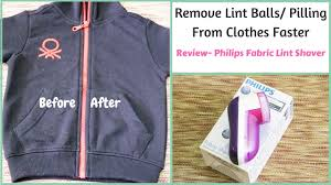 lint shaver best way to remove lint from clothes philips fabric shaver