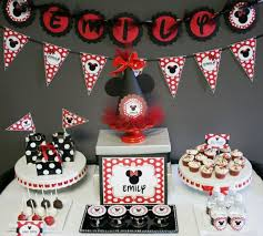 Mickey Mouse Party Theme Decorations - minnie mouse birthday party ideas include some considerations like