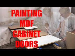 can you paint mdf kitchen cabinets painting mdf cabinet doors
