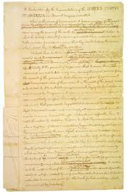 Which Of The Following Was Included In Washington S Cabinet Declaration Of Independence Right To Institute New Government