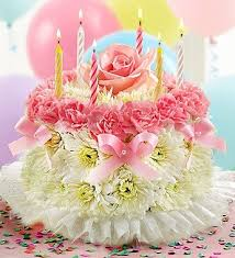 flowers birthday flowers by 1800flowers birthday flower cake pastel
