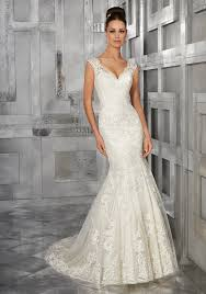 fit and flare wedding dress by morilee 5562 monet tank embroidered fit flare wedding