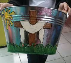 painted easter buckets 68 best painted pails images on painted