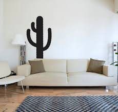 popular wall cactus buy cheap wall cactus lots from china wall home decal cactus silhouette wall stickers for living room removable vinyl bedroom decoration stickers mural decor
