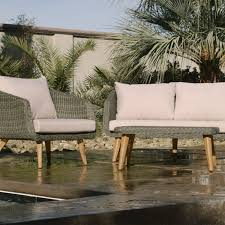 All Weather Wicker Gray All Weather Wicker Minorca Bench World Market