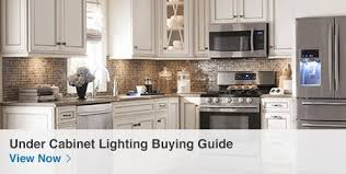 Led Undercounter Kitchen Lights Shop Cabinet Lighting At Lowes