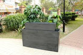 large outdoor planters modern margarite gardens
