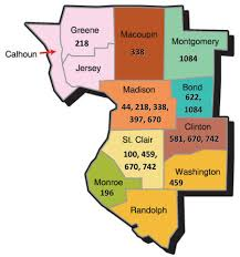 Illinois District Map by Contractors U2013 Southwestern Illinois Laborers District Council