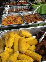 backyard bbq catering items pinterest beans backyards and tins