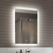 inspiring idea illuminated bathroom mirror nobby design ideas on