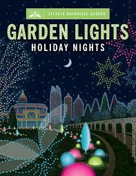 win 4 tickets to garden lights holiday nights at atlanta