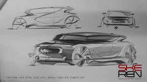 car sketch u0026 design keimyung university special lecture youtube