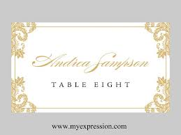 Table Card Template by Wedding Card Template Wedding Invitation With White Dots And
