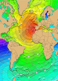 Time Zones Map United States by Atlantic Ocean Tsunami Threat From Earthquakes Landslides