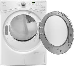 whirlpool wed7990fw 27 inch 7 4 cu ft ventless electric dryer