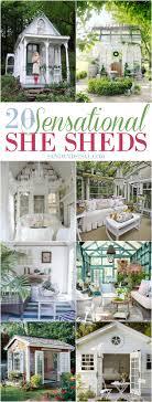 she shed 20 sensational she shed ideas sand and sisal