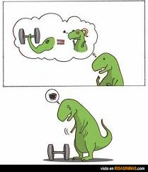 T Rex Unstoppable Meme - frases dinosaurio buscar con google frases chistes y memes