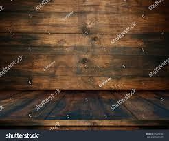 Dark Wooden Table Texture Wooden Table Wooden Interior Wooden Wall Stock Illustration