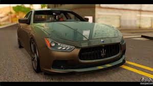 maserati gransport 2015 maserati for gta san andreas