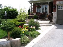 Front Landscaping Ideas by Small Front Yard Landscaping Ideas Toronto The Garden Inspirations